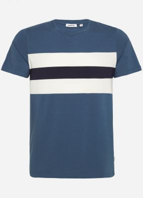 WIGHT BLOCK STRIPE TEE