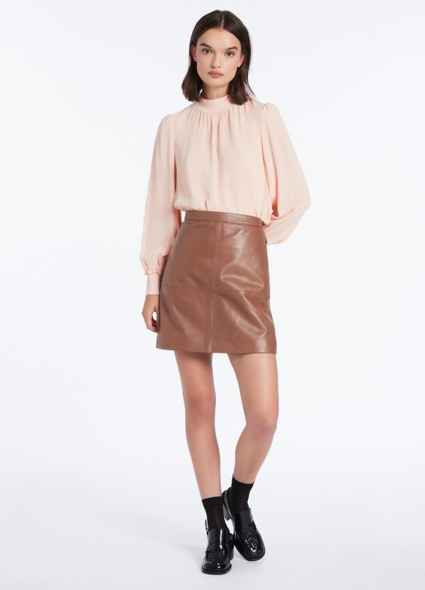 LUCY LEATHER SKIRT
