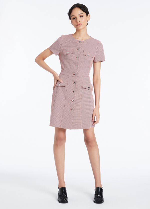 CHECKERS DRESS