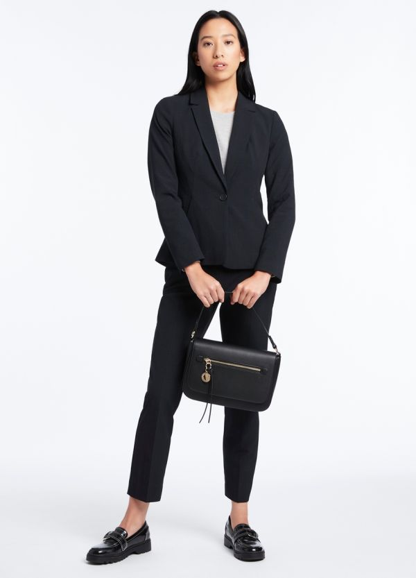 LUNA CHECK SUIT JACKET
