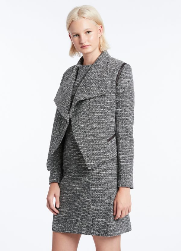 TWIGGY TEXTURED JACKET