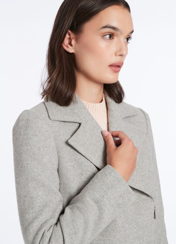 COSY TIME TWILL COAT