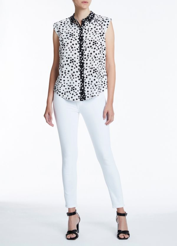 COOKIES AND CREAM BLOUSE