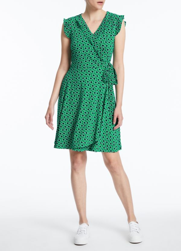 PARIS POLKA DOT DRESS