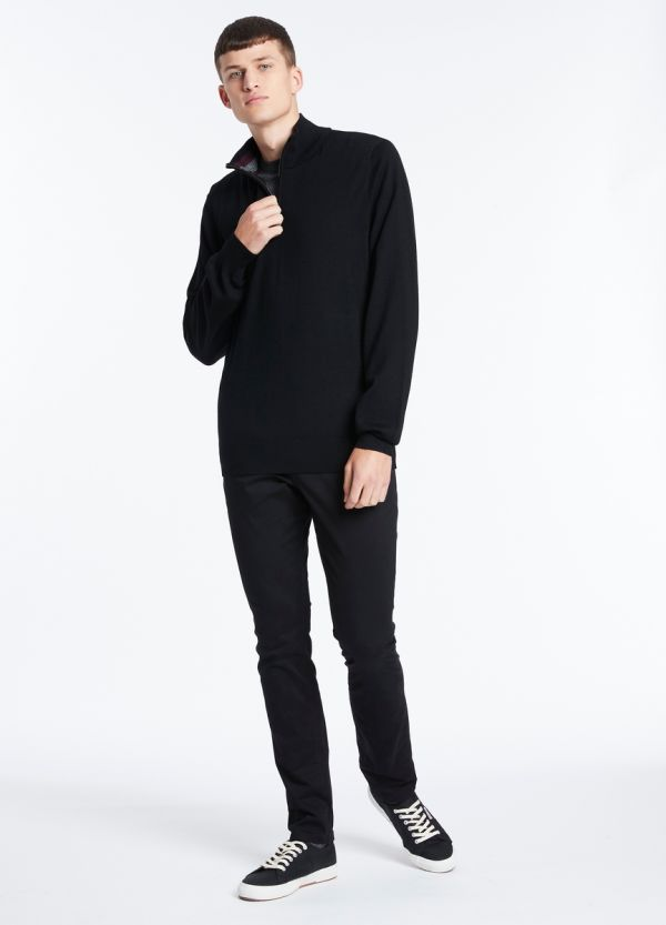 TED MERINO 1/4 ZIP KNIT