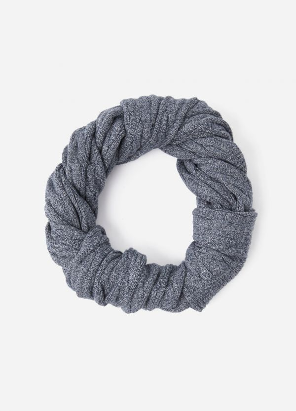 ECHO CABLE COTTON SCARF