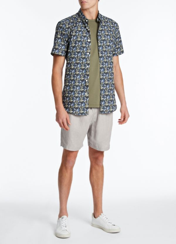 BEAMS LINEN SHORT
