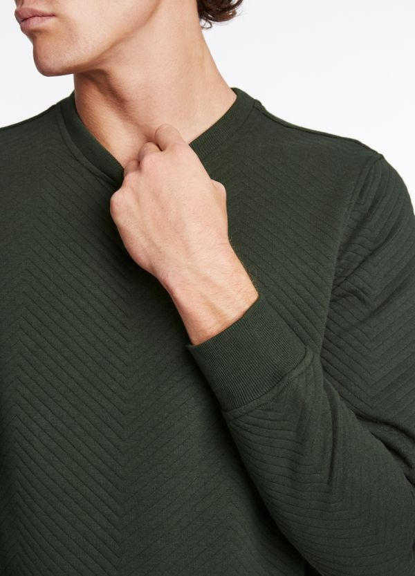 REID QUILTED SWEATER