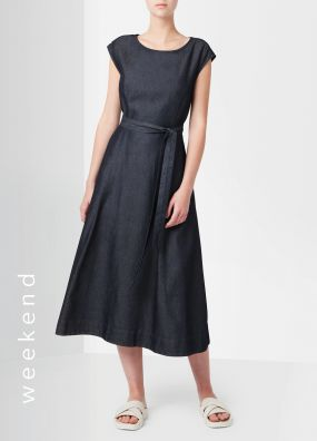 TESSA TENCEL MIDI DRESS