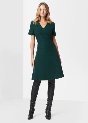 ROSIE WOOL DRESS