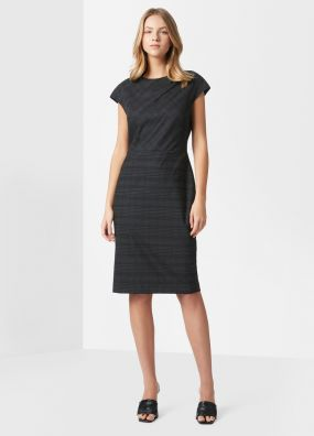 MILENA WOOL BLEND DRESS