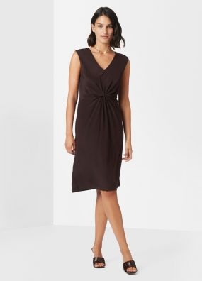 MARION SILK MIX DRESS