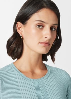 SLEEK HALF HOOPS