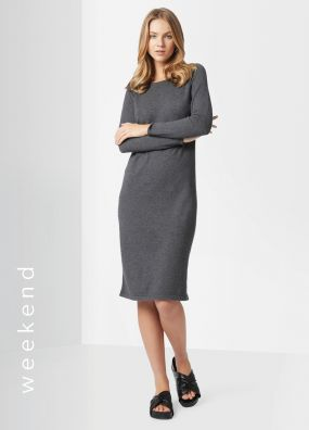 BETTINA LONG SLEEVE KNIT DRESS