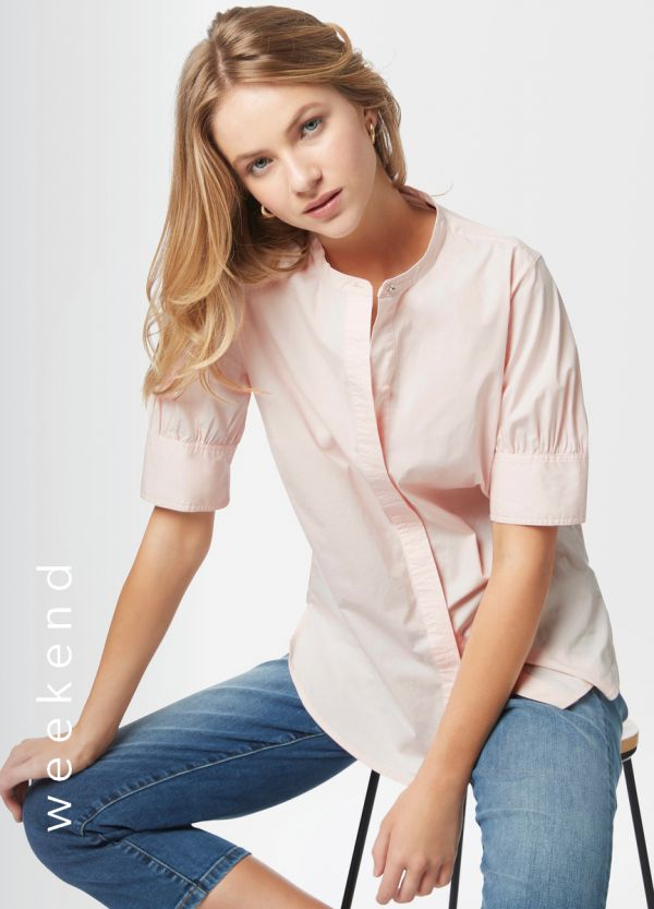 LAETITIA POPLIN BLOUSE