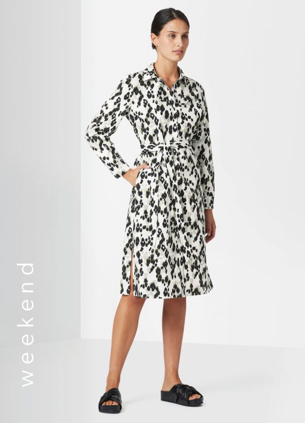 SACHA PRINTED SHIRT DRESS