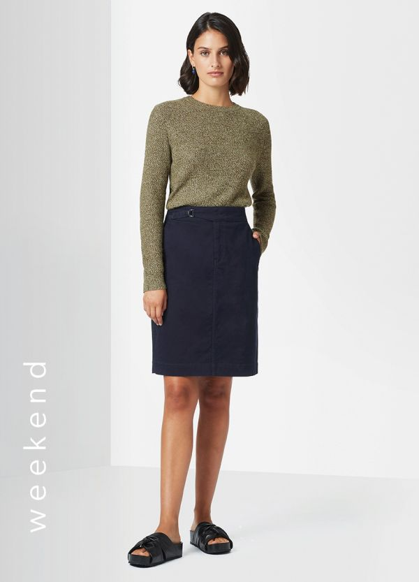 DELILAH UTILITY PENCIL SKIRT
