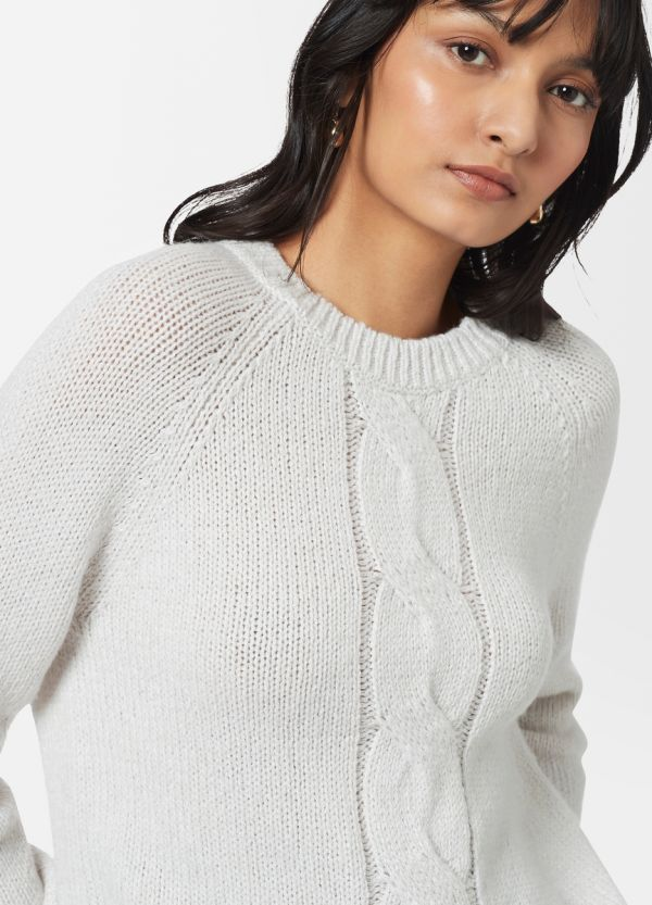 MARREN CABLE TWIST JUMPER