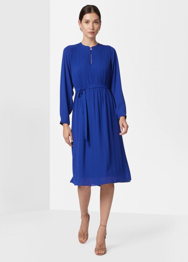 SAMARA PLEATED DRESS