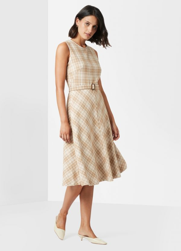 LEONIE TWEED DRESS