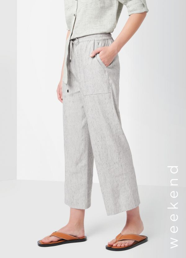 INGRID RELAXED LINEN PANT