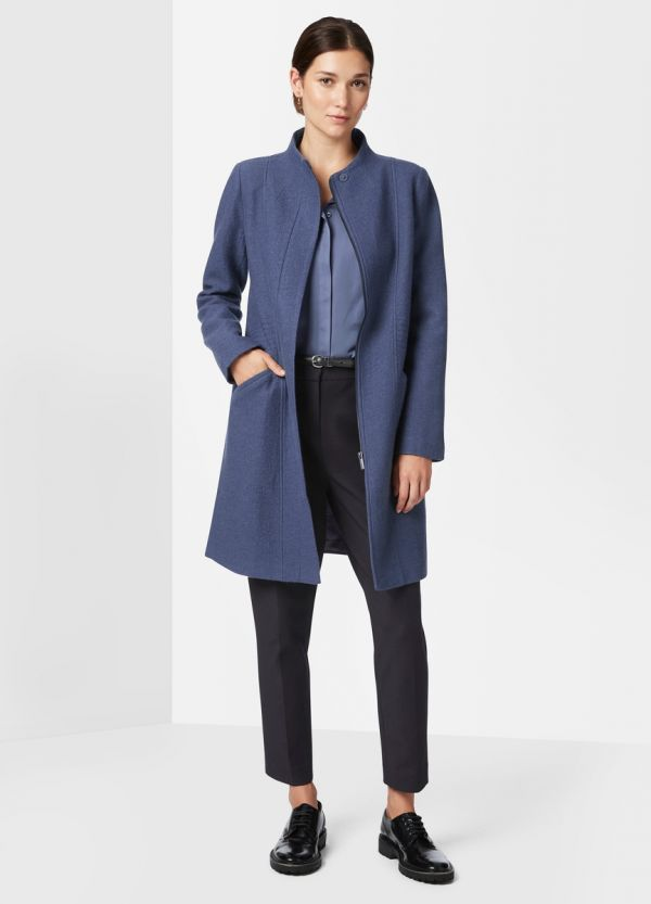MADISON FELTED WOOL COAT