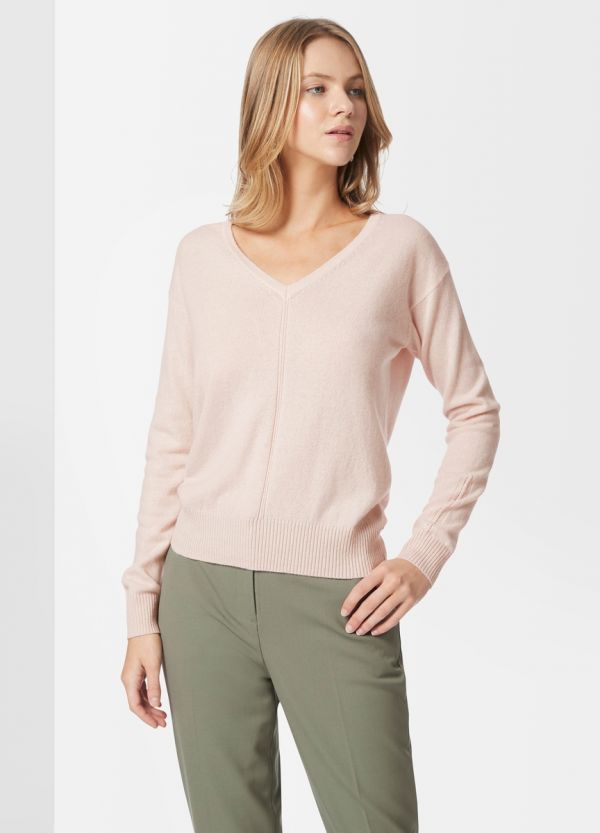 CASHMERE V NECK KNIT