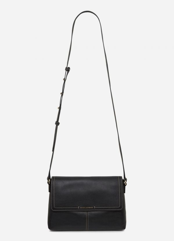 INEZ LEATHER CROSSBODY