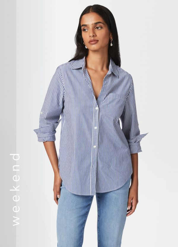 ROCHELLE STRIPED SHIRT