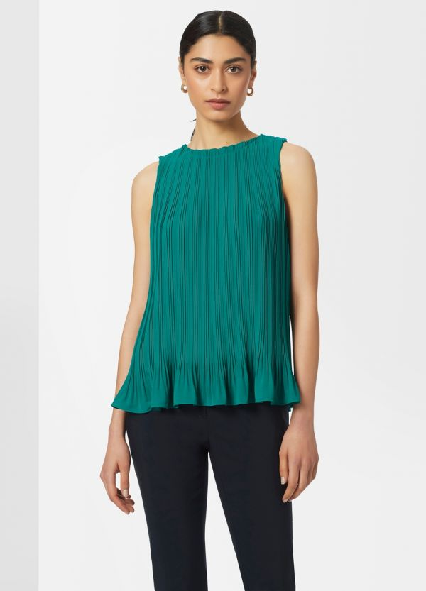 S/LESS PLEATED TANK