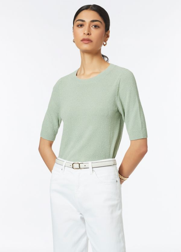 TERRY COTTON KNIT TEE