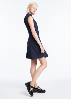 CALLIE CREPE DRESS