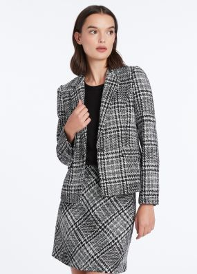 PLAID TO MEET YOU JACKET