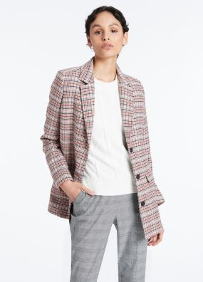 PADDINGTON CHECK COAT
