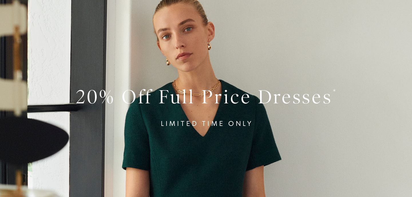 20% Off Full Price Dresses